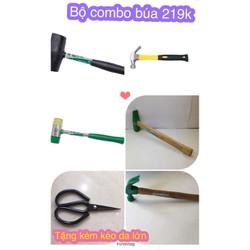 Bộ Combo 5 cây Búa+ tặng kèm 1 cây kéo da