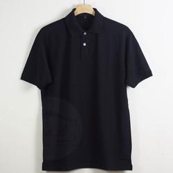 Áo thun nam có cổ màu đen đẹp chất lượng giá rẻ