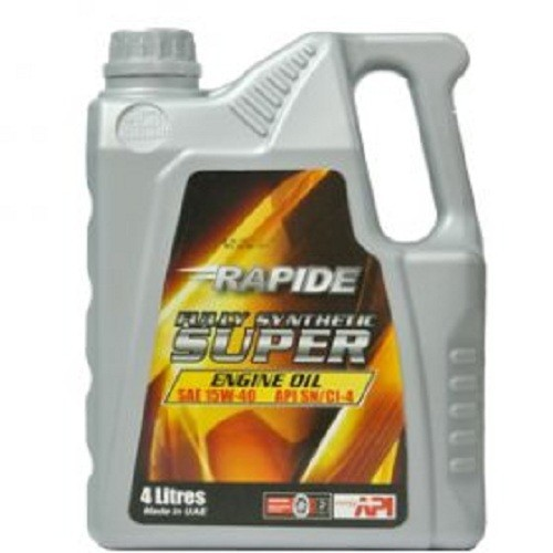 Nhớt ô tô Rapide Synthetic Super SAE 15W40 CI-4 4L - 4438429 , 9594401 , 15_9594401 , 415000 , Nhot-o-to-Rapide-Synthetic-Super-SAE-15W40-CI-4-4L-15_9594401 , sendo.vn , Nhớt ô tô Rapide Synthetic Super SAE 15W40 CI-4 4L