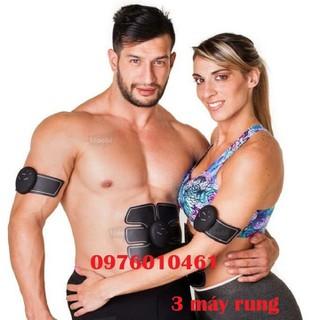 3 máy tập thể dục smart fitness - 3 máy + 3 miếng dán thumbnail