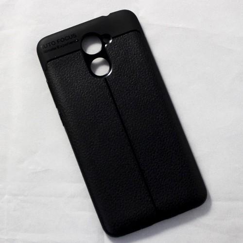 Ốp dẻo Huawei Y7 2017 lưng sần đen