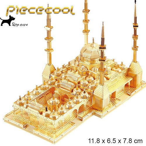 Mô hình thép 3D tự lắp chechnya-mosque