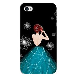 Ốp lưng điện thoại iphone 4- girl