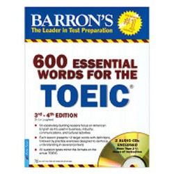 600 Essential Words For The Toeic 3rd - 4th Kèm 2 CD