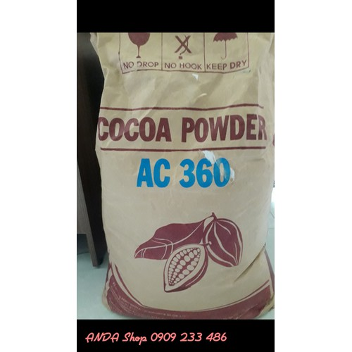 Bột Cacao nguyên chất Indonesia 1kg