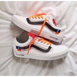 Giày VANS OFF WHITE trắng