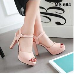 Giày cao gót nữ - đế xuồng