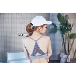 Áo bra thiết kế đẹp chất liệu co giản tốt