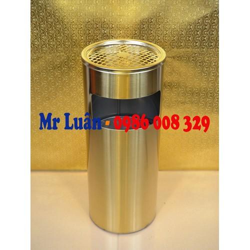 Thùng rác inox tròn gạt tàn giá rẻ - 11104973 , 9604505 , 15_9604505 , 550000 , Thung-rac-inox-tron-gat-tan-gia-re-15_9604505 , sendo.vn , Thùng rác inox tròn gạt tàn giá rẻ