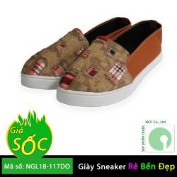 01 Đôi Giày nữ thời trang giá rẻ - kiểu dáng mới nhất - NGL18-309B