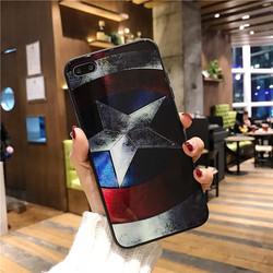 Ốp lưng Captain America cho IPhone 7,8