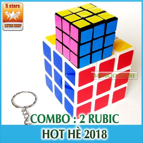 Combo Rubik 3x3 kèm 1 Rubik nhỏ