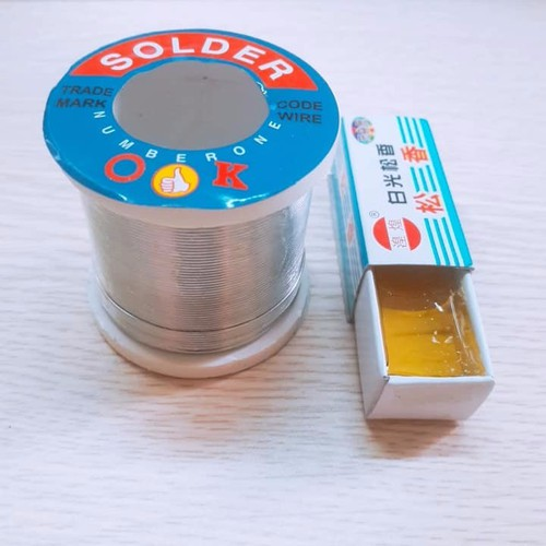 Linh kiện điện tử Combo 1 Cuộn Thiếc + Nhựa Thông