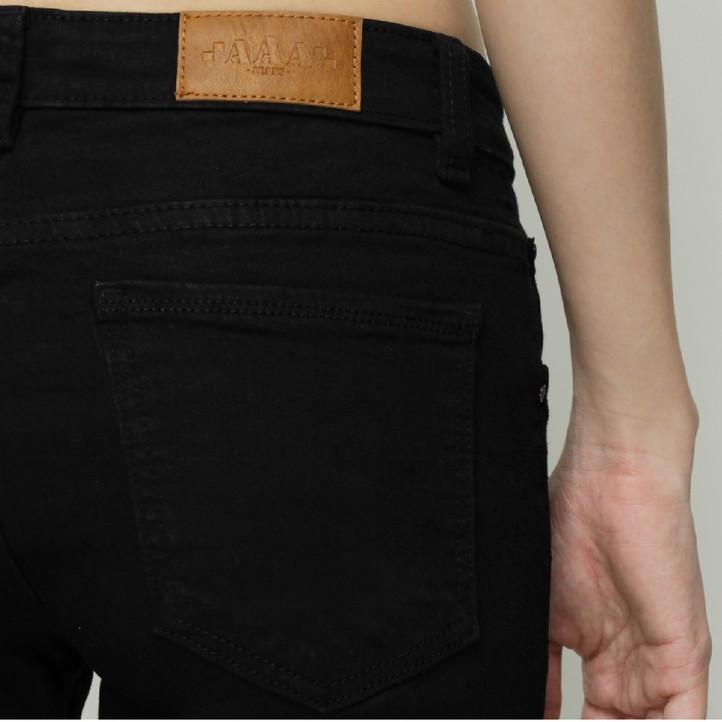 Quần Jean Nữ Đen Skinny Dáng Ôm Cao Cấp - AAA Jeans 6