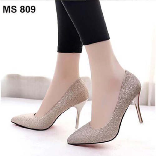 Giày cao gót kim tuyến | Giày cao gót nữ | Giày cao gót dự tiệc