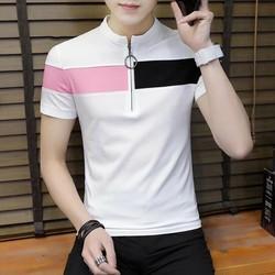 áo thun nam chất liệu cotton dầy mịn
