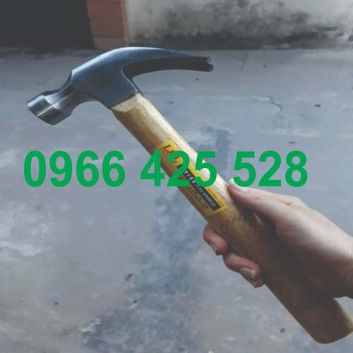 Búa thép - búa 750g - búa cán gỗ - LL60003