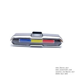 Đèn đuôi xe đạp thể thao sạc USB GOOFY