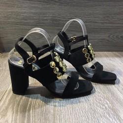 Giày cao gót hai quai