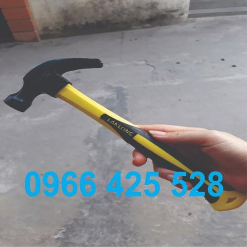 Búathép - búa 500g - búa cán cao su - LL60005