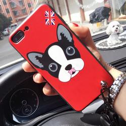 Ốp lưng tráng gương hình thú cưng cho IPhone 7,8