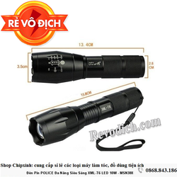 Đèn pin siêu sáng- đèn led tiết kiệm điện- bảo vệ gia đình