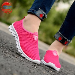 Giày lưới thể thao nữ 4 mùa màu hồng