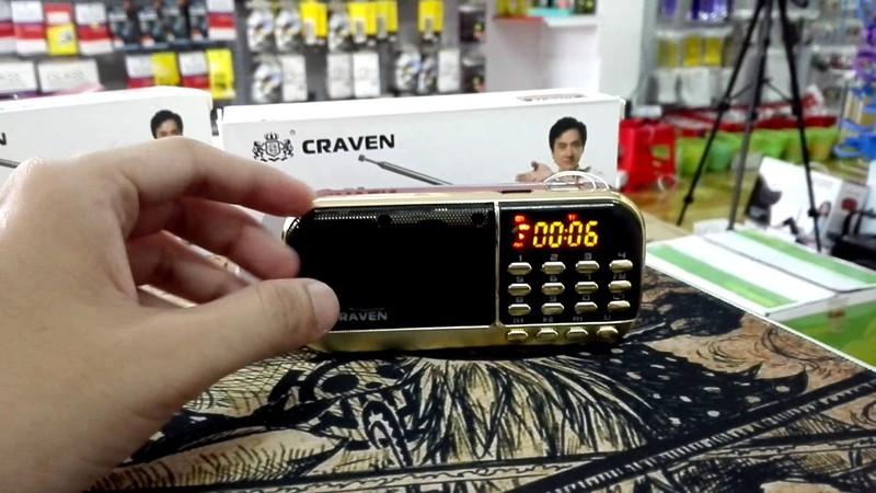 Loa Nghe Nhạc Usb Thẻ Nhớ FM Craven CR-836 5