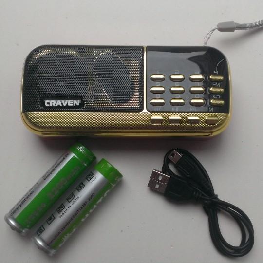 Loa Nghe Nhạc Usb Thẻ Nhớ FM Craven CR-836 2