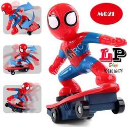Đồ chơi Người Nhện Spider Man lướt ván