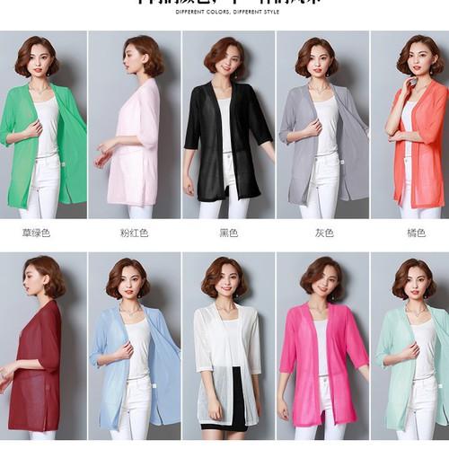 Áo khoác len  nữ  mỏng đủ màu AK2126 - 4438748 , 9618583 , 15_9618583 , 199000 , Ao-khoac-len-nu-mong-du-mau-AK2126-15_9618583 , sendo.vn , Áo khoác len  nữ  mỏng đủ màu AK2126