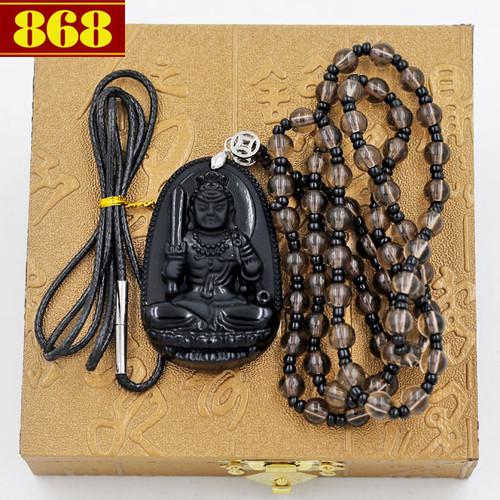 Vòng cổ Phật bản mệnh Bất động minh vương 4.3cm