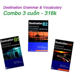 Sách - Destination Grammar And Vocabulary - Combo 3 cuốn - 316k