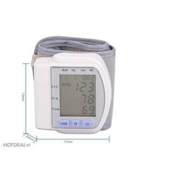 máy đo huyết áp cổ tay của nhật bản