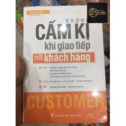 Sách - Những cấm kị trong giao tiếp với khách hàng