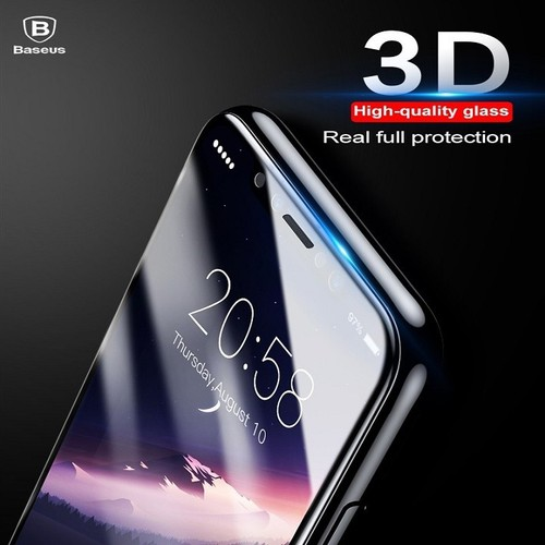 Kính Cường Lực Full Màn Hình BASEUS 3D Arc Cho IPhone X - ĐEN - 5698336 , 9639269 , 15_9639269 , 220000 , Kinh-Cuong-Luc-Full-Man-Hinh-BASEUS-3D-Arc-Cho-IPhone-X-DEN-15_9639269 , sendo.vn , Kính Cường Lực Full Màn Hình BASEUS 3D Arc Cho IPhone X - ĐEN