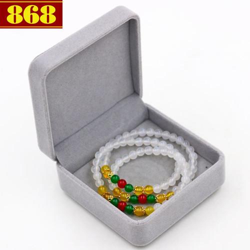 Vòng chuỗi quấn ba đá ngọc tủy trắng VDB3 kèm hộp nhung - 5693560 , 9631671 , 15_9631671 , 240000 , Vong-chuoi-quan-ba-da-ngoc-tuy-trang-VDB3-kem-hop-nhung-15_9631671 , sendo.vn , Vòng chuỗi quấn ba đá ngọc tủy trắng VDB3 kèm hộp nhung