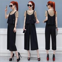 Q042535 - Set áo và jumsuit nữ kiểu Hàn Quốc - giá 740k