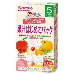 Trà Wakodo hoa quả tổng hợp 5 tháng+ nội địa Nhật Bản 7 gói