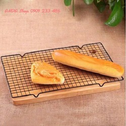 Rack hông bánh thấp 40x25cm