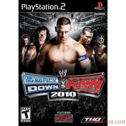 Đĩa game PS2  Đô Vật Mỹ Smack Down Raw trọn bộ