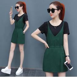 Q042603 - Set áo và jumsuit nữ kiểu Hàn Quốc - giá 720k