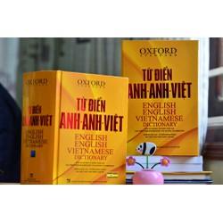Sách - Từ Điển Oxford Anh Anh Việt -Bìa Cứng Vàng kèm quà tặng - 250k