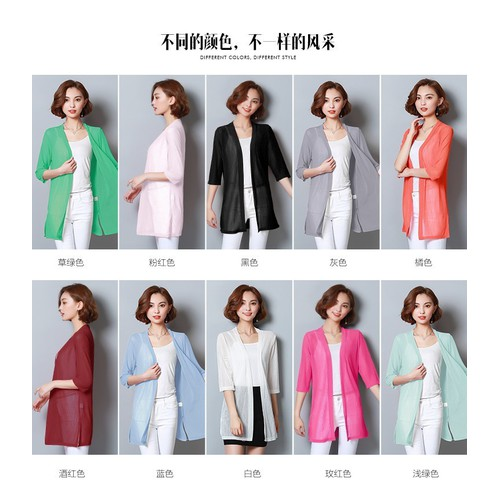 Áo khoác len nữ mỏng đủ màu AK2126 - 5696442 , 9636448 , 15_9636448 , 199000 , Ao-khoac-len-nu-mong-du-mau-AK2126-15_9636448 , sendo.vn , Áo khoác len nữ mỏng đủ màu AK2126