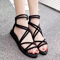 Sandal Dây Khoá Kéo Sau