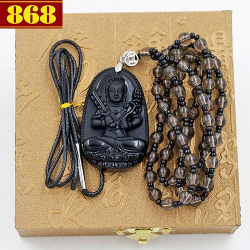 Vòng cổ Phật bản mệnh Hư Không Tạng Bồ Tát 4.3cm