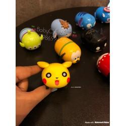 Xe chạy trớn Pikachu cute