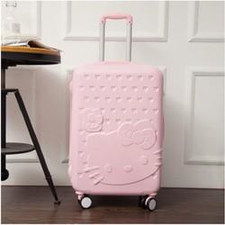 vali kéo du lịch họa tiết kitty 24 inch hàng Thái Lan