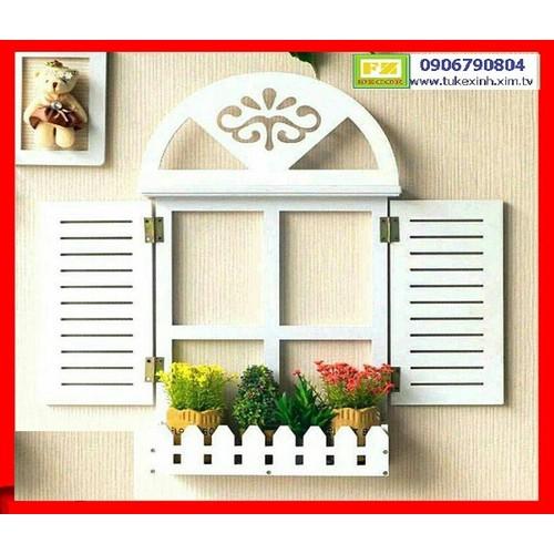 Kệ treo có hàng rào như hình Thiết kế cửa thanh lịch