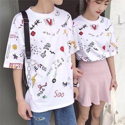áo tshirt in hình cute